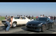 GT-R vs MUSCLE  Cali Street Racing 560hp