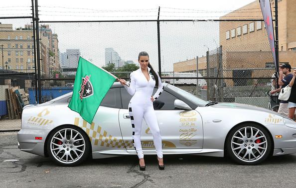 Kim Kardashian Bullrun Rally  in NYC