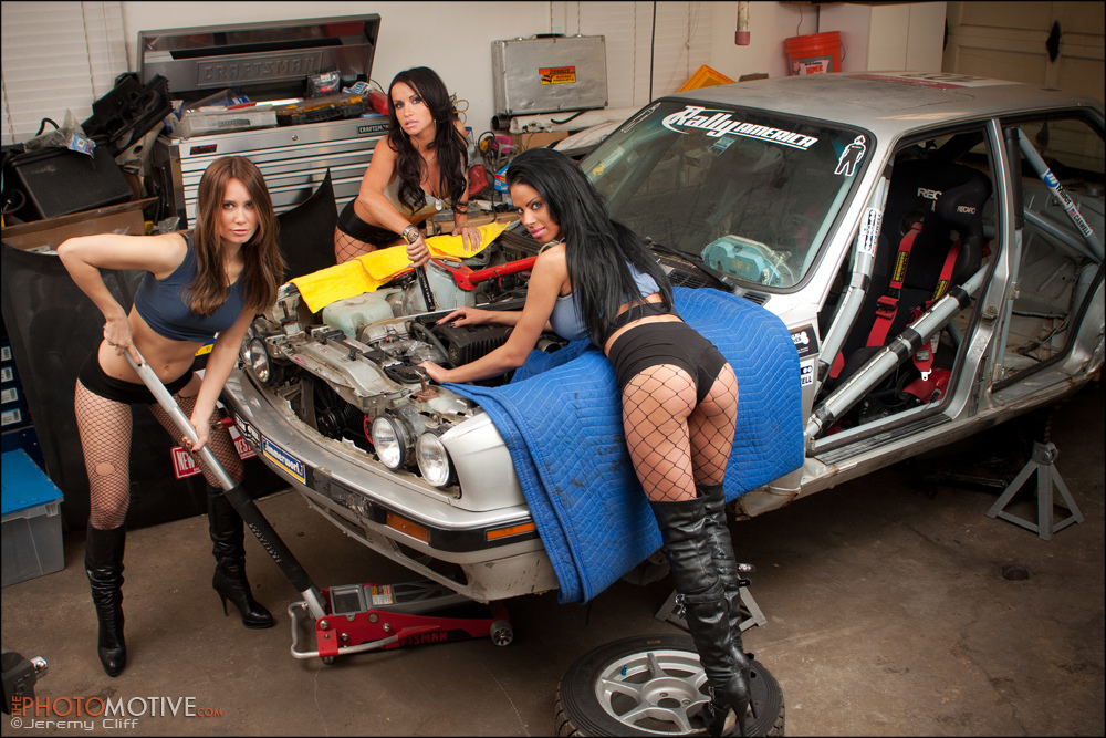 Rally BMW Mechanics