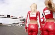 Paddock girls: Marlboro