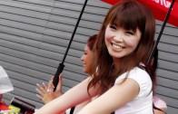 2013.8.4 MOTEGI 2&4 RACE Paddock girls レースクィーン ピットウォーク1 ツインリンクもてぎ MFJ 全日本ロードレース スーパーフォーミュラー 虹色車模