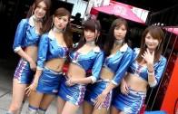 【虹色レースクィーン】2013 もてぎ SUPER GT Round8  PACIFIC FAIRIES  2013.11.2 Paddock girls 虹色車模