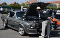 My 1967 Mustang Shelby GT500 Eleanor getting judged at Turtleball 2013