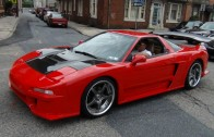 Sick Acura NSX In Super Cars On State Street 2013