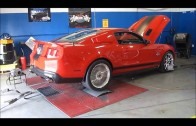 2011 800 HP Shelby GT500 Super Snake dyno