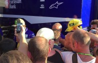 VALENTINO ROSSI 46# PADDOCK MOTOGP SACHSENRING 2015 AFTER QUALIFYING