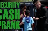 Fake Security Cash Prank!