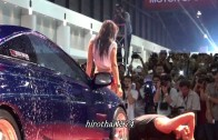 Sexy CarWash Show T-Models part1