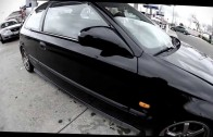 FS  Black 1996 Honda Civic DX Hatchback EK9