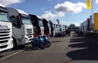 MotoGP Silverstone 2015- A walk down the paddock!