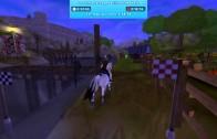 La course  sauvage de L'île du Paddock [ Star stable ]