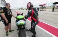 SBK 2014 – MA-FRA in Superbike nel paddock del Team Grillini Kawasaki