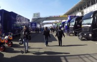 Paddock Grand Prix de France Moto 2015