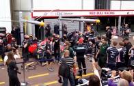 Sebastian Vettel  (Paddock Boxes) Formula 1 Grand Prix Monaco 2012