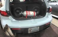 2007 Mazda Speed 3 Custom At 2014 MegaSpeed Car Show