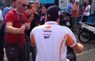 Marc Marquez – Paddock Misano MotoGP 2013