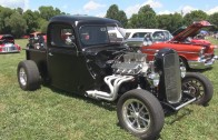 1938 Ford Hot Rod/Rat Rod Pickup Truck – 2015 Pack the Park Car Show