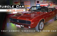 """Muscle Car Of The Week Video #25: 1967 Camaro """"Cherokee"""" Concept Show Car"""