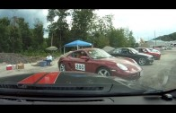 Giving a ride-along to to my paddock neighbor, the Porsche Cayman #280 driver