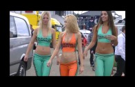 GridGirls during Superleague Formula Zolder