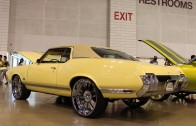 1970 Cutlass sitting on 24″ Forgiato Rasoio wheels (Memphis DUB show 2013)