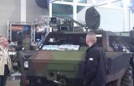 20130510 Das Spähfahrzeug Fennek der Bundeswehr auf Tuningmesse  Tuning World Bodensee