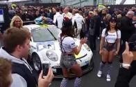 24h Rennen Nürburgring 2015 – Startaufstellung Gridgirls Party