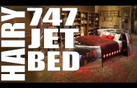 747 Jet Engine Bed | Putting Thrust Back Into Your Bedroom | Sexy Funny News