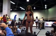 Anaheim 2010 Car Show Swimsuit Bikini competition, Daft Punk soundtrack