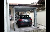 Ascensore per auto con TETTO DI COPERTURA  Green Park srl