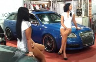 Audi Girl – AMTS – Carstyling.hu Tuning Show 2013