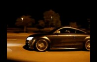 Audi R8 vs audi TT TUNING illegal  street race!