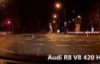 Audi R8 vs. Honda CBR 929RR Fireblade Short Street Race