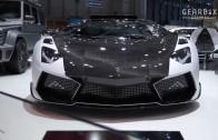 Aventador tuning car in Geneva Motor Show 2014