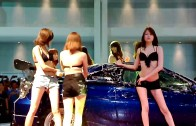 Bangkok Auto Salon 2013 – Sexy Car Wash [A-Class Girl Japan]