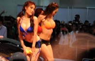 Bangkok International Auto Salon 2013 – Sexy Car Wash [22 June]