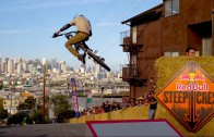 Bike Racing Down Steep San Francisco Streets – Red Bull Steep Crest 2014
