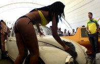 bikini car wash -drems car show 2014 ags