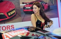 Bikini Contest Asian showgirls Auto Show 2015 Korea