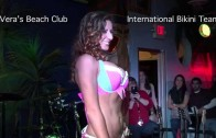 Bikini Contest at Vera's Beach Club Feb 2015