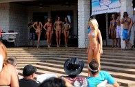 Bikini Models Swimsuit Contest Show