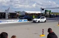 BMW 645Ci vs Fiat Punto 1.9jtdm 16v  Osijek Street Race Show 06.09.2015.