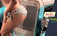 Bombshells 2016 Hotrods & Muscle Cars Calendar with Bikini Babes