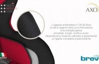 BREVI Axo: seggiolino auto con sistema brevettato di assorbimento d'urto