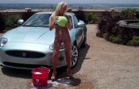 Celebrity Photographer Ed Couture Sexy Maxim Car Wash Photo Shoot with Hot Model Megan Marie :)