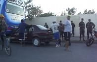 Choque Auto con colectivo – en Salta Argentina