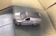 Como aplicar pintura plasti dip red metalizer sobre auto con negro matte