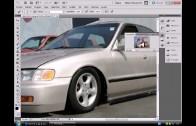 como bajar el auto con adobe photoshop cs3,cs4 y cs5 facil y rapido