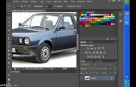 Como bajar un auto con photoshop cs6