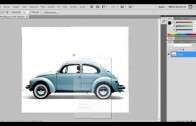 Como bajar un auto con Photoshop CS5
